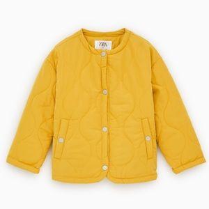 Zara kids lined puffer jacket